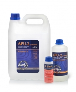 Lakier poliuretanowy wodny do parkietu dwuskładnikowy, lakier do podłóg drewnianych, parkietu litego i warstwowego, Hartzlack APU2